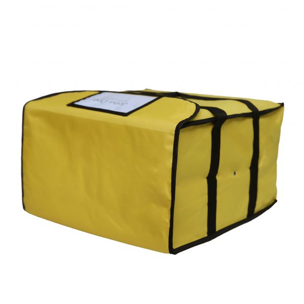 Yellow Pizza Delivery Bags