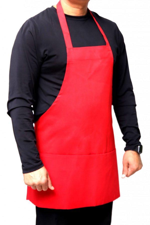 Red 25 x 30 Aprons