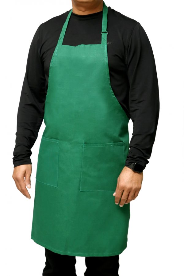 Adjustable Aprons Kelly Green