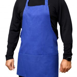 25 x 30 Royal Blue Aprons