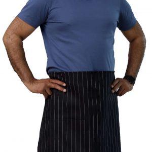 36 x 34 pinstripe bistro apron