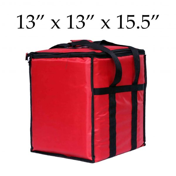 insulated food delivery bags (13 x 13 x 15)