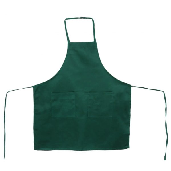 Kelly Green Adjustable Aprons
