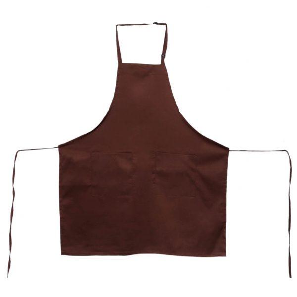 Brown Adjustable Aprons