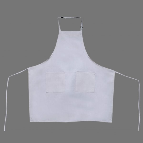 White Adjustable Aprons