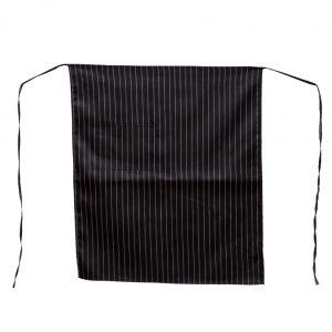 Black Pinstripe Aprons