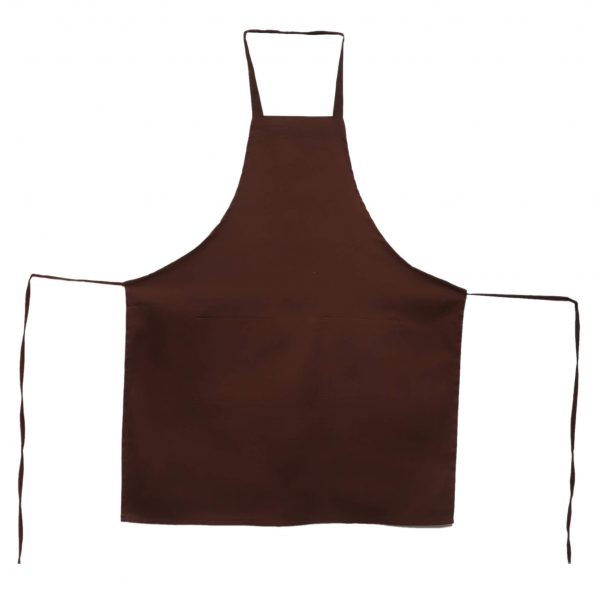 34 x 32 Brown Aprons with Pockets