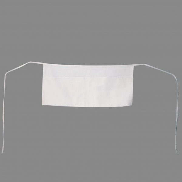 white waist aprons