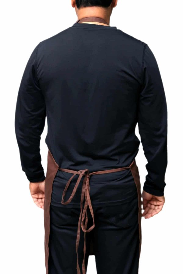 adjustable Apron having long tie straps