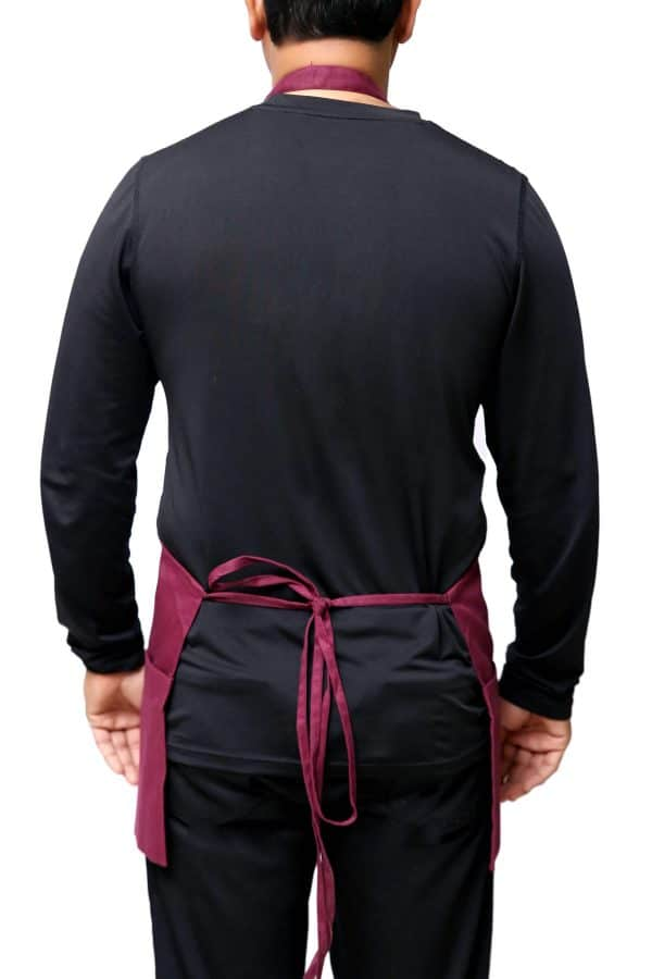 tied Straps of Adjustable Apron