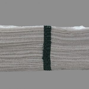 green stripe bar towels (pack of dozen)
