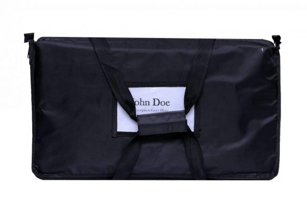 Label Card Container (Black Food Bag)