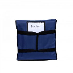 Label Card Container Blue Bag