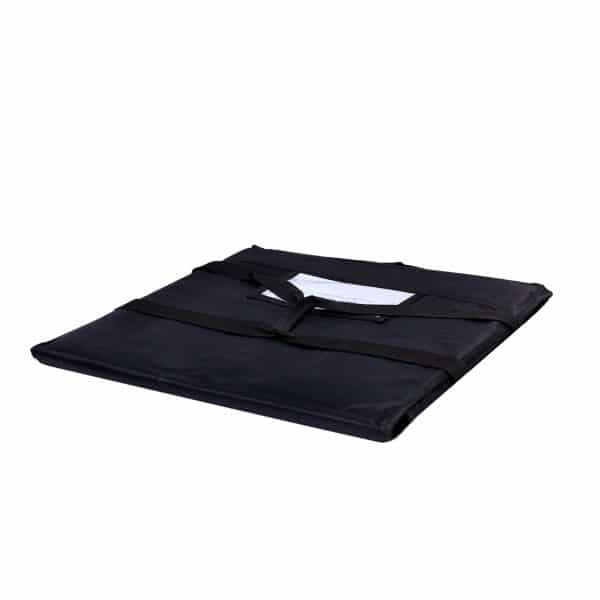Black Color Large Pizza Delivery Bag