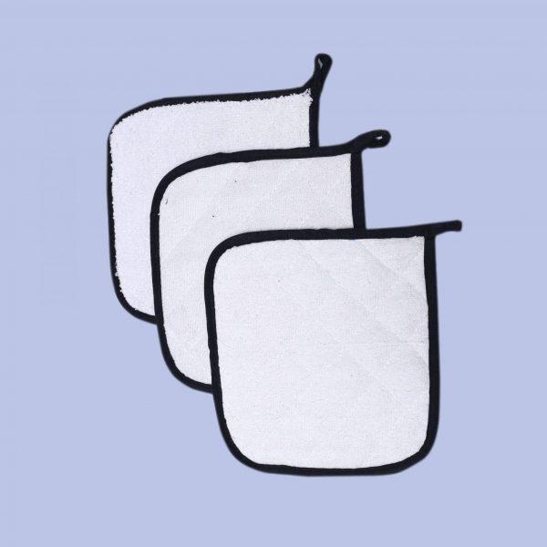 3 Pack terry pot holder