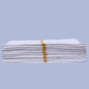 Golden strip bar towel (dozen)