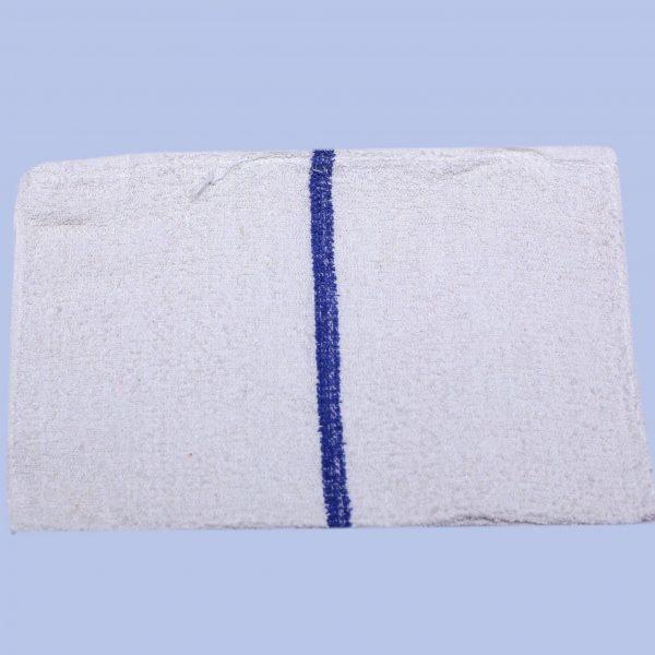 blue striped bar towels