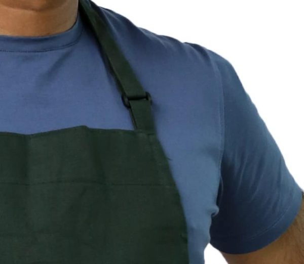 Hunter Green Adjustable Apron's Neck Straps
