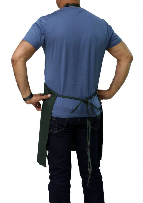 back view adjustable apron