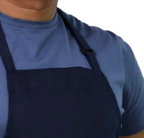 Navy Blue Adjustable Apron