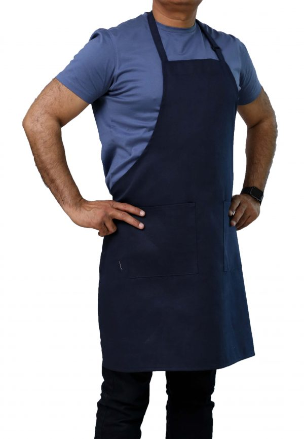 Navy Blue Adjustable Aprons