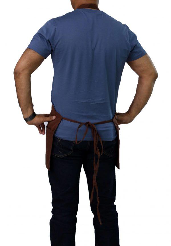 nice straps brown bib apron