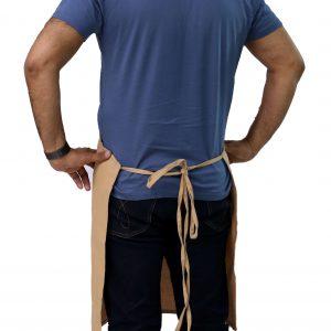 bib apron tie straps
