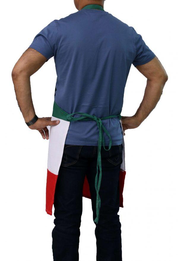 Italian Apron's tie straps