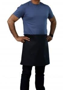 4 way black waist apron