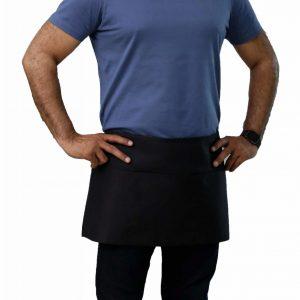 professional black waist aprons