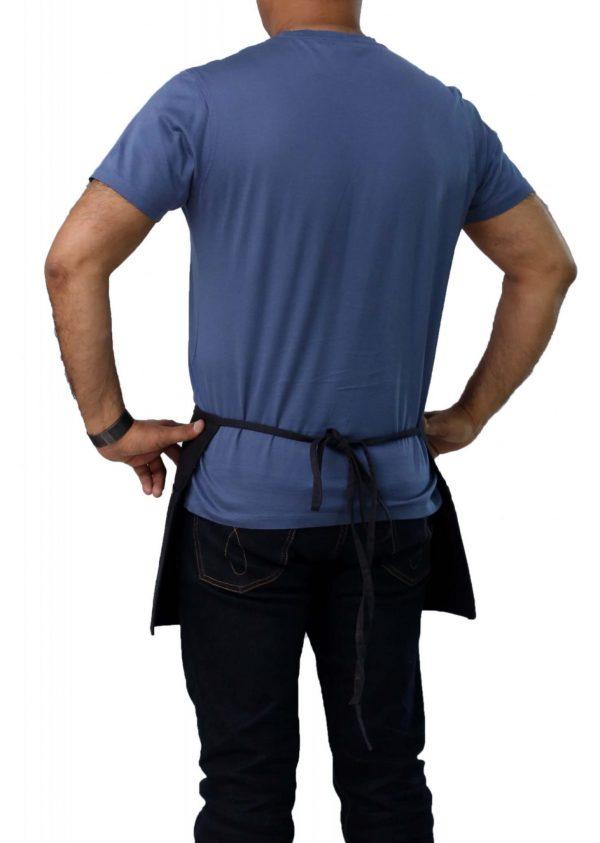 black color professional 12 x 26 waist aprons