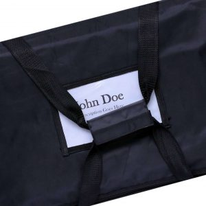 Black insulated Food Delivery Bags