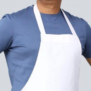 front view of economy apron