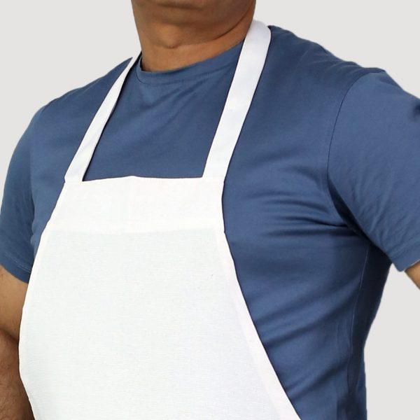 white apron's neck style