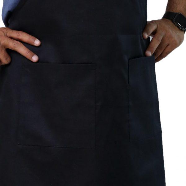 black aprons pocket