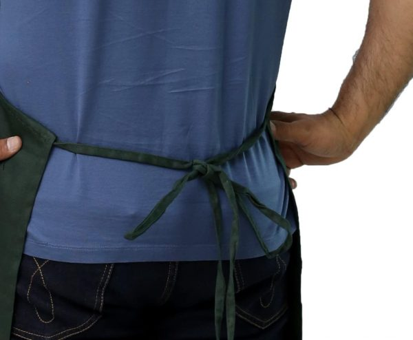Adjustable Apron's Tied Straps
