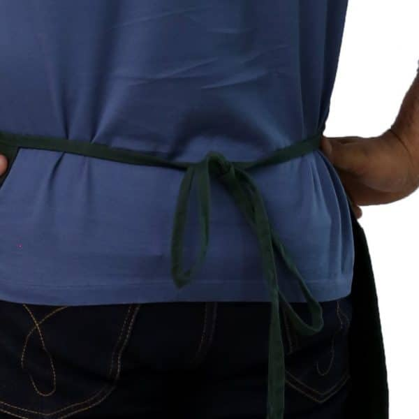 Waist Apron's Tied Straps
