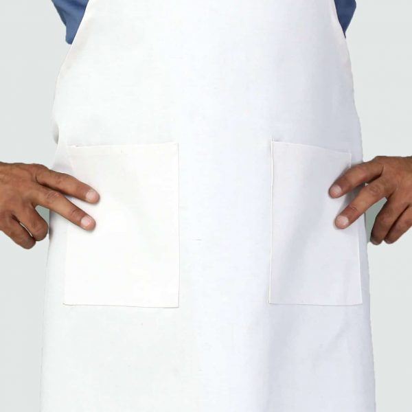 professional apron with pockets