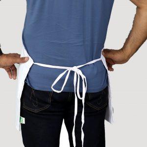 white apron's tie straps design